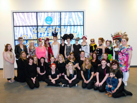 Hairdressing students put on a fantastic Hair Show Extravaganza | Greenbank College - Liverpool