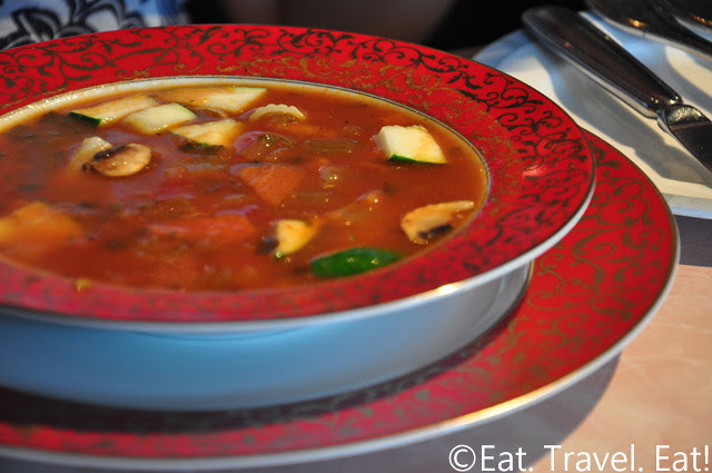 Sesame Grill: Minestrone Soup
