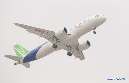 China's C919 completes maiden flight — Aviogeek
