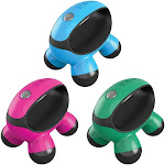 HoMedics Quatro Mini Massager NOV30 Assorted Colors