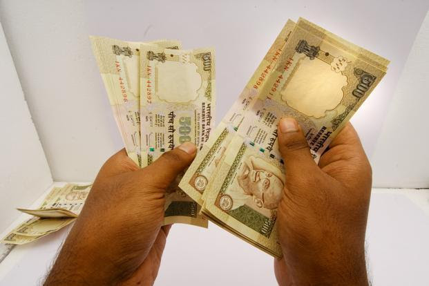 Rupee falls from 8-month high on technicals, intervention risk