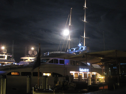 Moonlight on the Dock