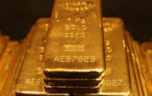 $1.1 million worth of gold bars discovered in airplane washroom