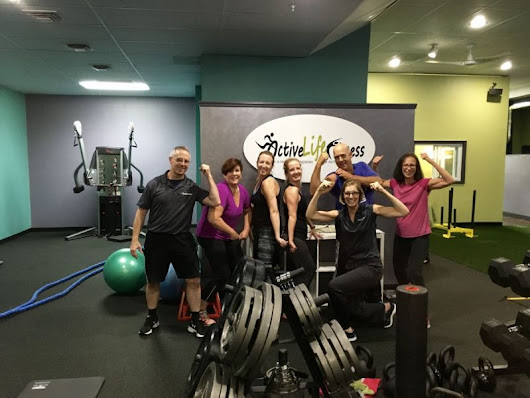 "Active Life Fitness of Garwood is ""fired up"" for its Grand reopening on October 19"