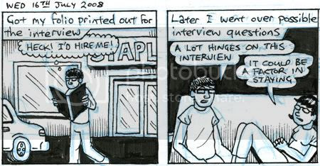 job interview comic