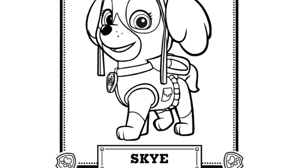 30 Paw Patrol Skye Coloring Pages - Free Printable Coloring Pages