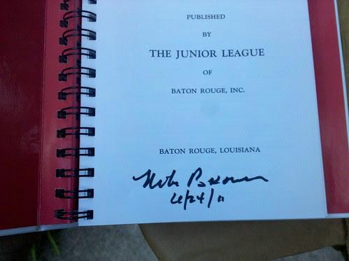 Michael Brown's autograph