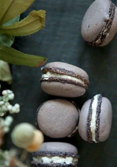 earl grey Lavendel-macarons ein schönes dessert für Ihren großen Tag