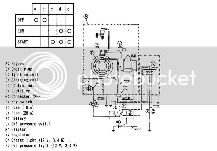 Kawasaki Voltage Regulator Wiring Diagram