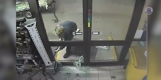 Watch This Would-Be ATM Thief Foil His Own Plan
