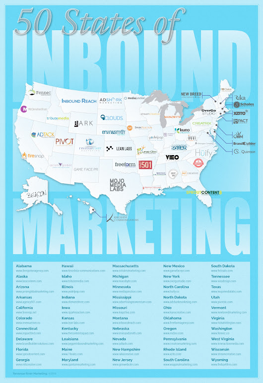 50 States of Inbound Marketing: Top Marketing Agencies Across the United States