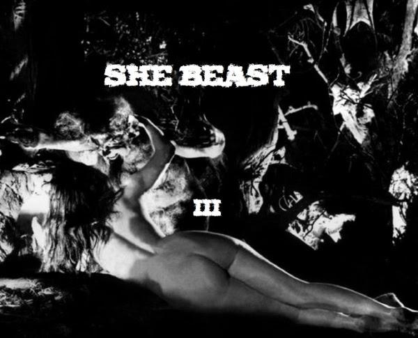 She Beast - III EP Cover