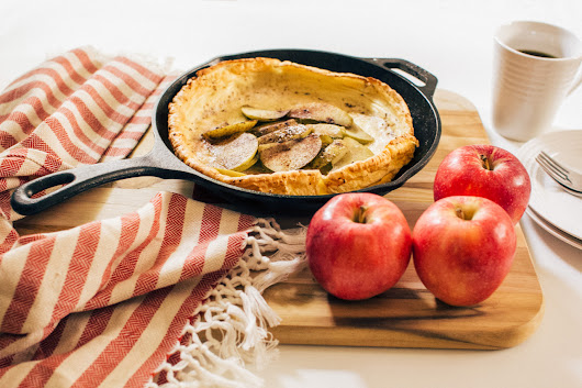 Lodge Cast Iron — Apple Cinnamon Dutch Baby Also called a German...