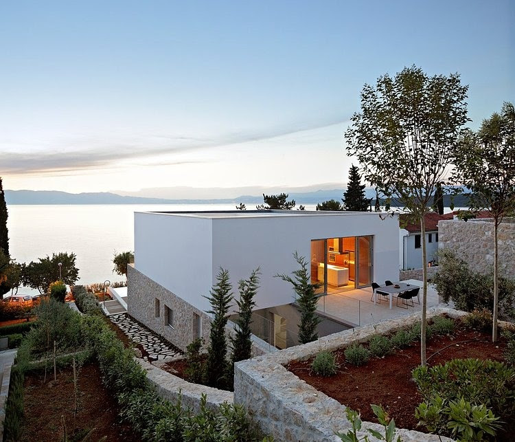 001 krk island residence dva arhitekta Krk Island Residence by DVA Arhitekta