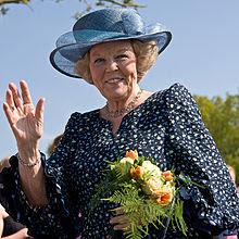 Béatrix, reine des Pays-Bas, en mai 2008