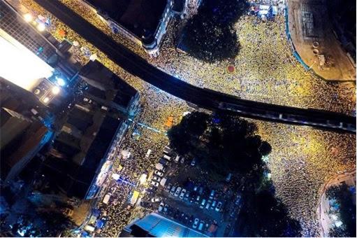 Bersih 4.0 - Second Day Night Crowd - 300000