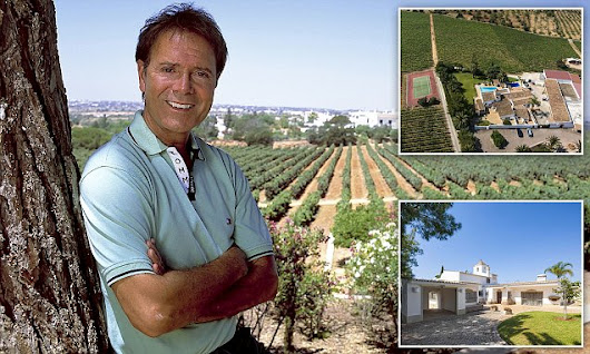 Cliff Richard cuts the price of his Portuguese mansion by £2.5 million