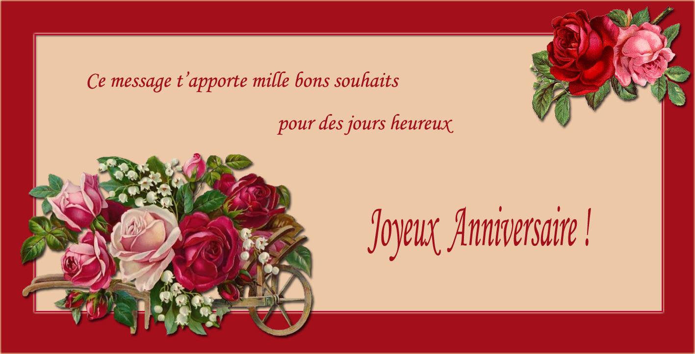 Message D Joyeux Anniversaire