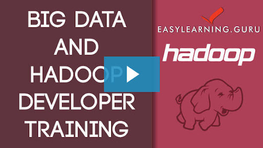 Hadoop Big Data Online Training|Hadoop Training and Certification| easylearning.guru