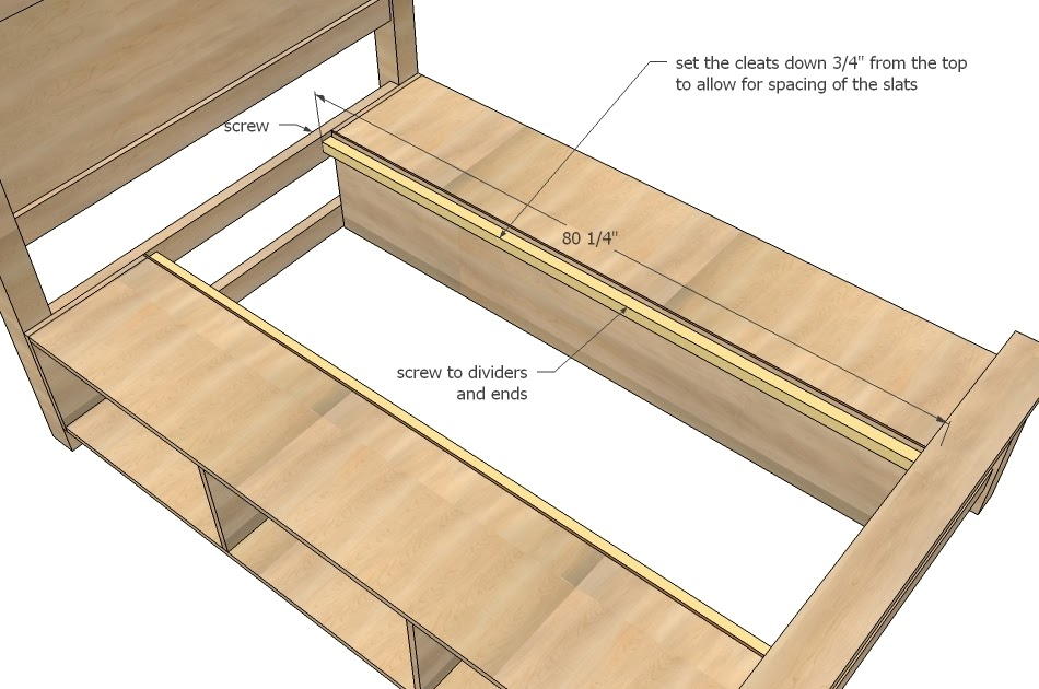Useful King Size Bed Free Woodworking Plans On The
