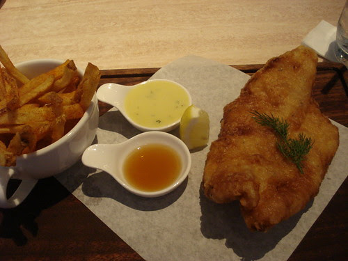2nd's red horse fish and chips