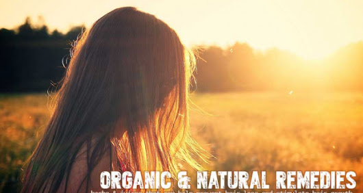 Top 11 Organic & Natural Hair Loss Remedies