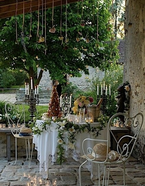 Beauty Of Garden Inspired Design All Things French