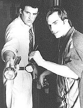 Promotional photo from the 1995 Hardy Boys syndicated TV show