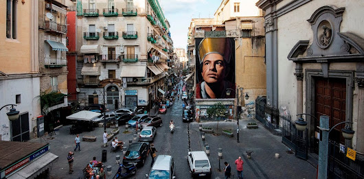 Street art: young Italians shake Camorra's hold on public space in Naples