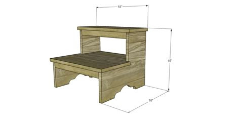 plans  build  step stool designs  studio