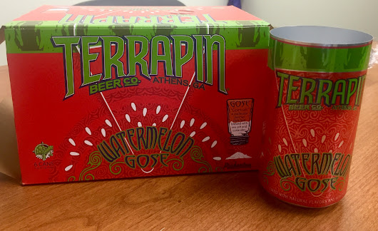 First Look: Terrapin Watermelon Gose cans - Beer Street Journal