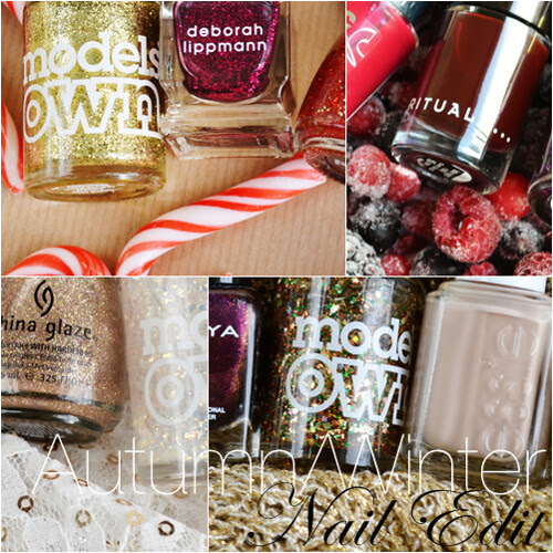 Autumn winter nail edit