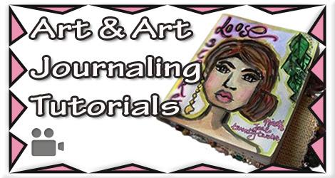 Click To View My Art & Art Journaling Tutorials