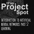 Introduction to Artificial Neural Networks Part 2 - Learning