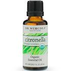 Dr. Mercola Organic Citronella Essential Oil 1 fl oz