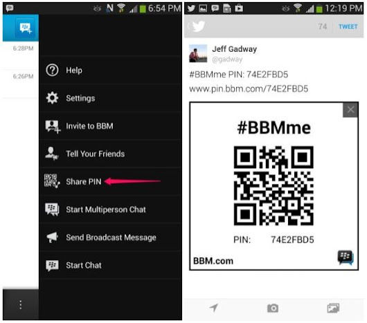 BBM for Android and iOS Updated With New Features and Improvements