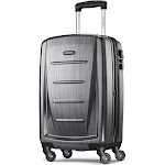 """Samsonite Winfield 2 Fashion 20"""" Spinner, Charcoal by Luggage Pros"""