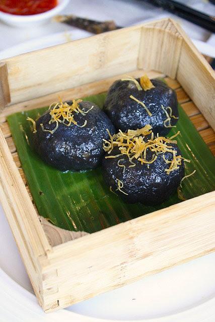 Peony Jade Steamed Crystal Minced Pork Dumpling