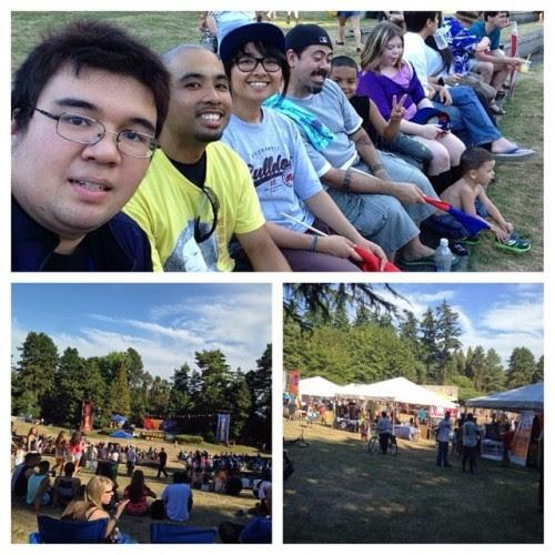 Day 37: Attended the Pista sa Nayon at Seward Park #93daysofsummer #summer2014 #pistasanayon #sewardpark