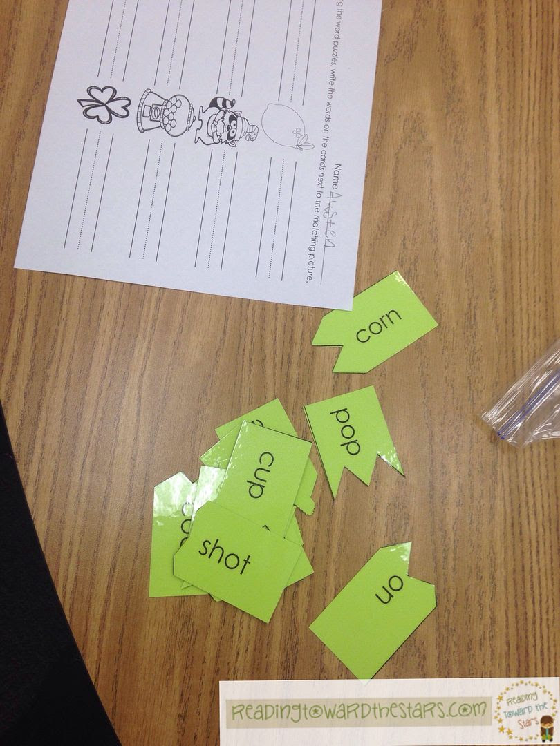 Chunking sounds to read words is great for helping students as they read longer words. This activity with syllables makes it easy for students to chunk sounds and read words.