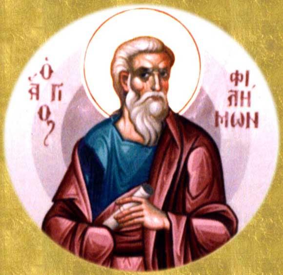 IMG ST, PHILEMON, Apostle of the Seventy