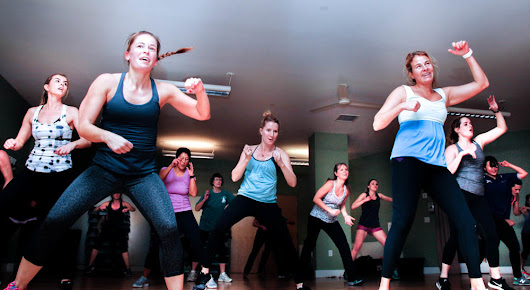 Photograph a Zumba Class, Take 1