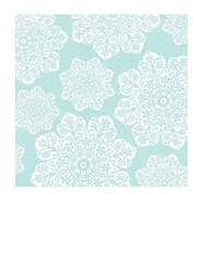 7x7 inch SQ JPG batik flower Snowflakes various sizes paper LARGE SCALE
