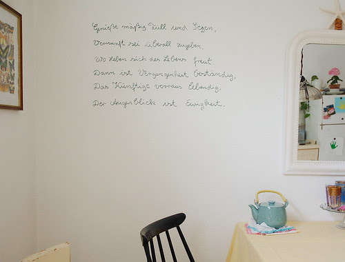 Goethes poem