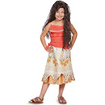 Disney Princess Moana Classic Child Costume - 51661 - Red - 4-6X