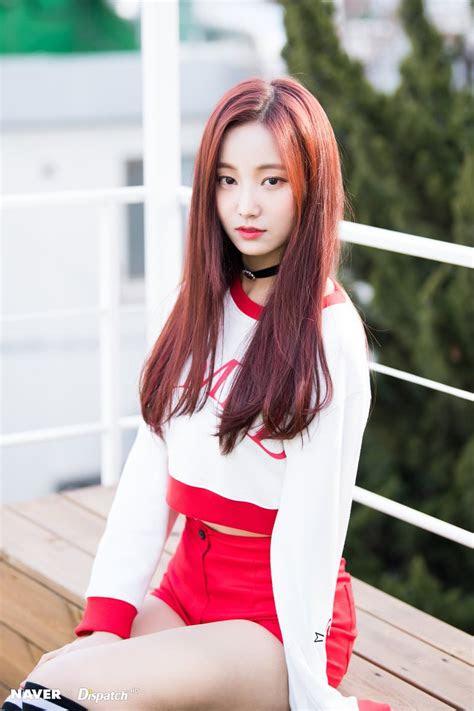 momolands yeonwoo  absolutely gorgeous  short hair