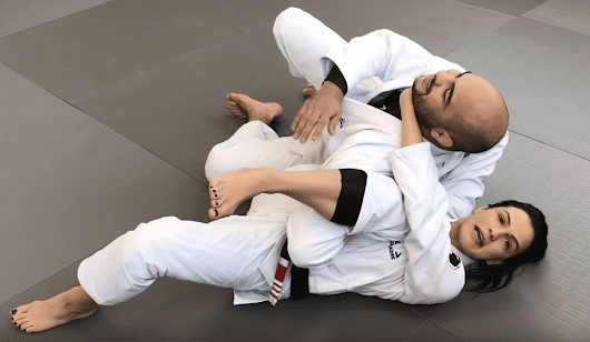 Kyra Gracie Shows An Omoplata Submission She Accidentally Finished At Abu Dhabi