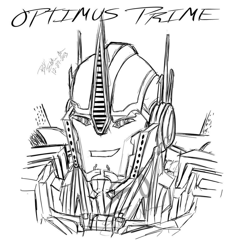 Transformers Prime Coloring Pages At Getdrawingscom Free For