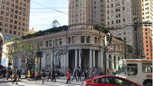 35-story hotel and residential tower proposed atop historic San Francisco corner - San Francisco Business Times