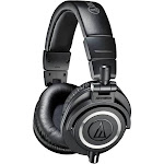 Audio-Technica ATH-M50x Monitor Headphones - Black